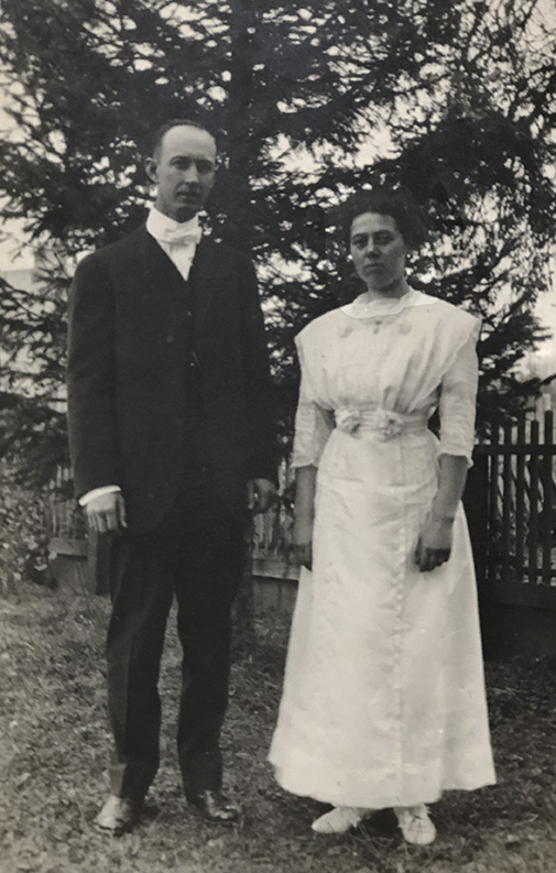 Dr. CE Mason and wife Bertha